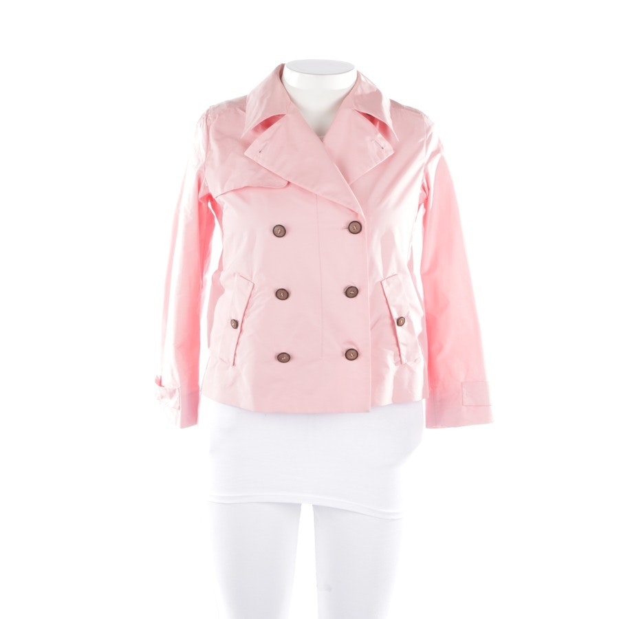 between-seasons jackets from Miu Miu in salmon pink size 36 IT44