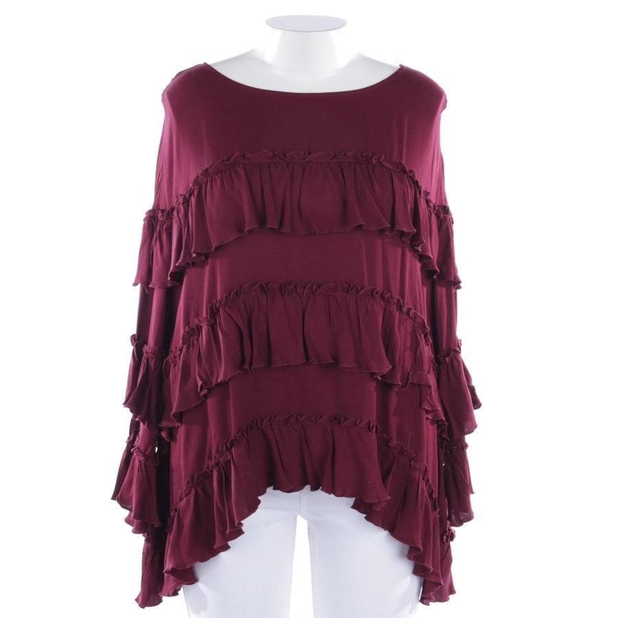 blouses & tunics from Stefanel in bordeaux size L