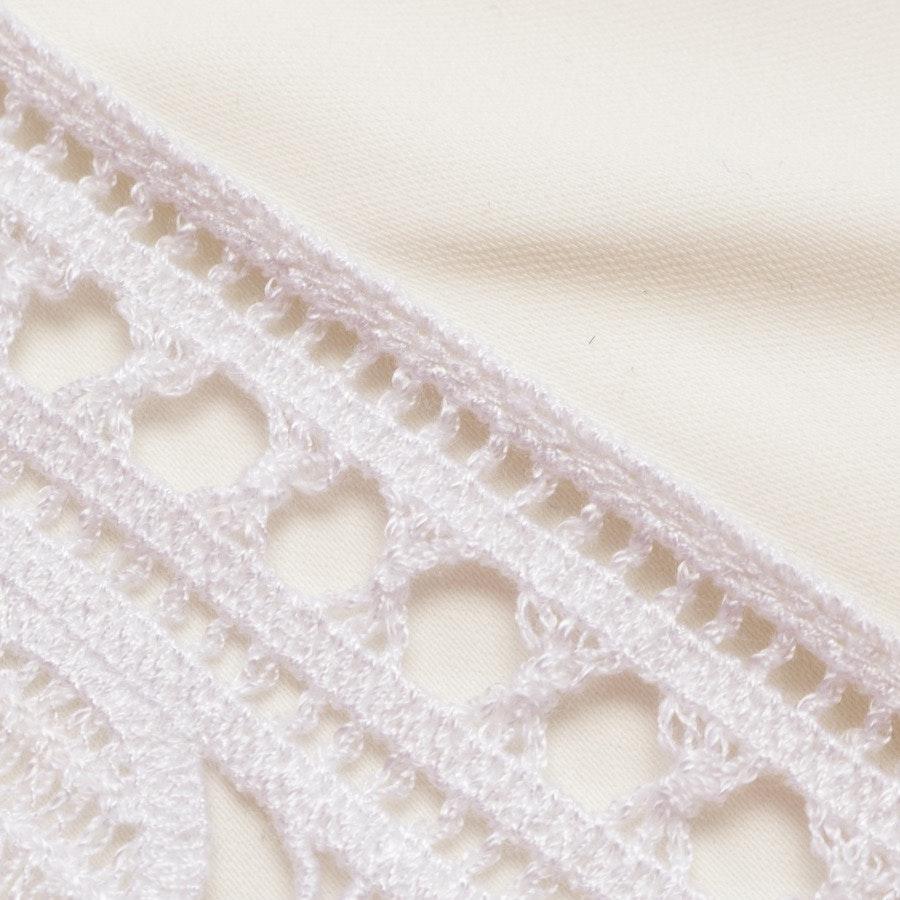 Kleid von Tory Burch in Ecru und Weiß Gr. 34 US 4