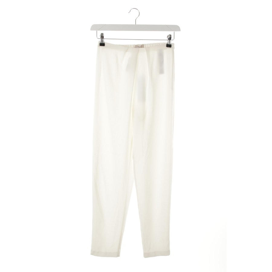 trousers from Stefanel in white size 34