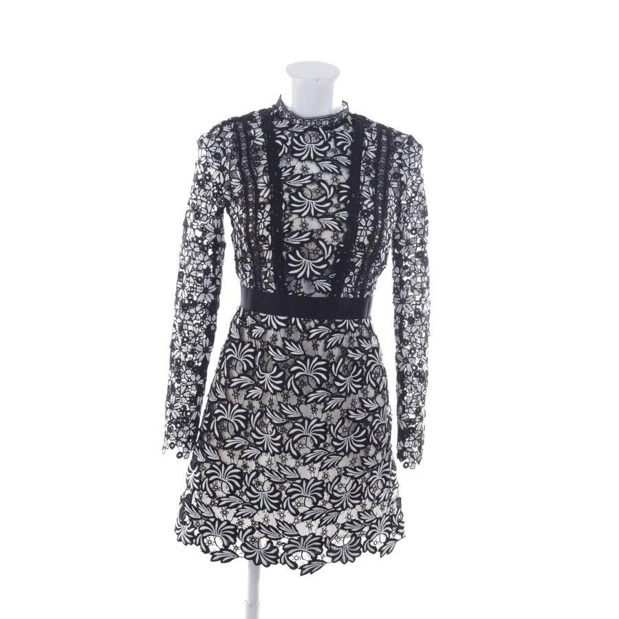 Kleid von self-portrait in Schwarz und Weiß Gr. 36 UK 10