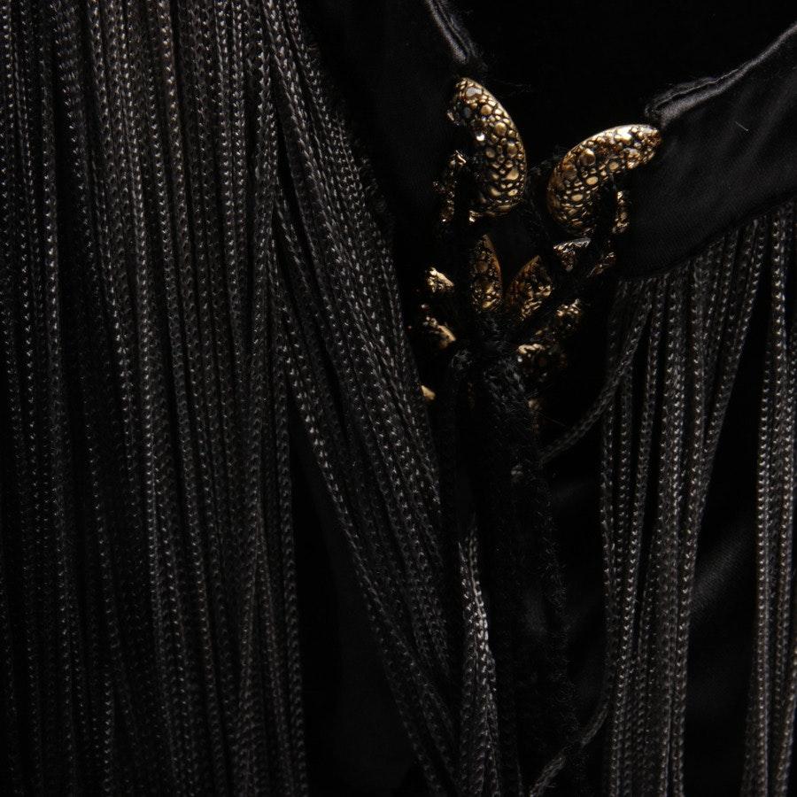 Seidenkleid von Roberto Cavalli in Schwarz Gr. 38 IT 44