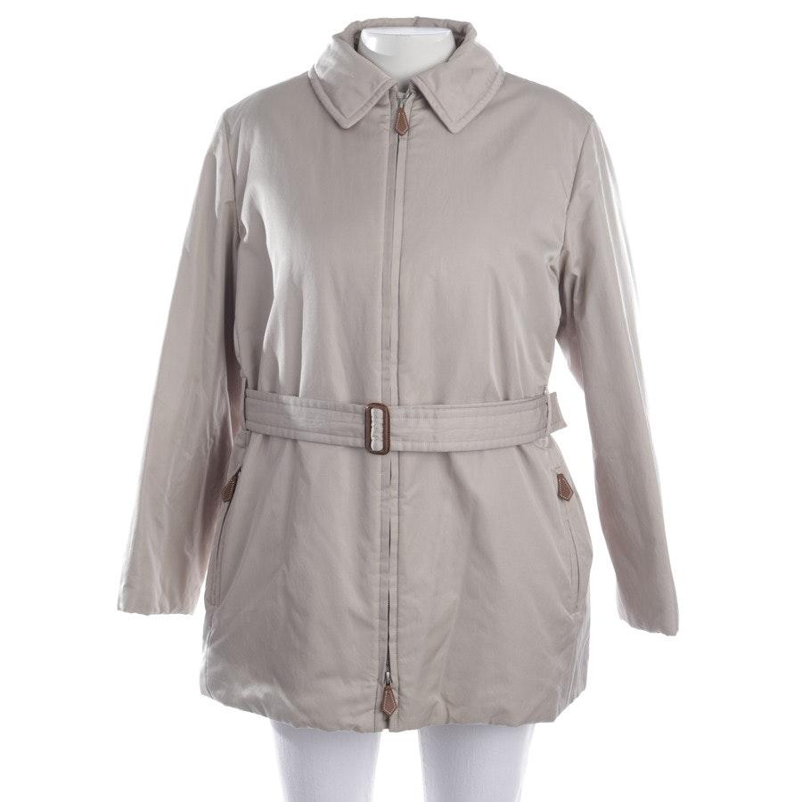 Übergangsjacke von Hermès in Ecru Gr. 36 FR 38