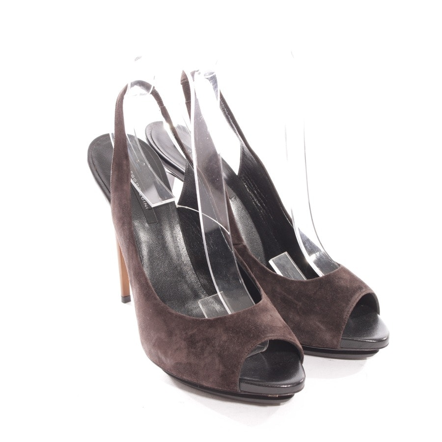 pumps from Diego Dolcini in brown size D 39 - new!