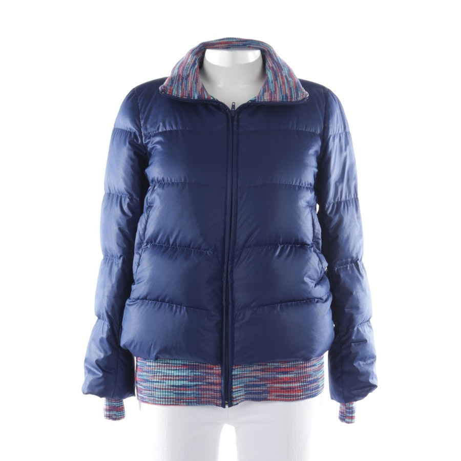 winter coat from Missoni M in blue size 34 IT 40