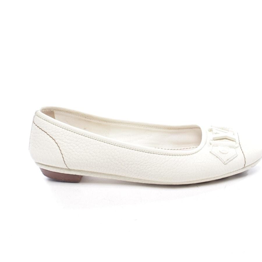Ballerinas von Louis Vuitton in Offwhite Gr. EUR 36,5