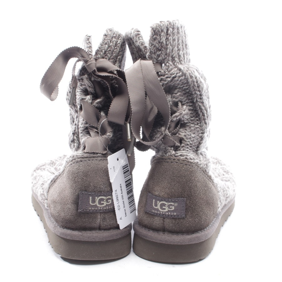 boots from UGG Australia in gray size EUR 38 - isla cable knit botts