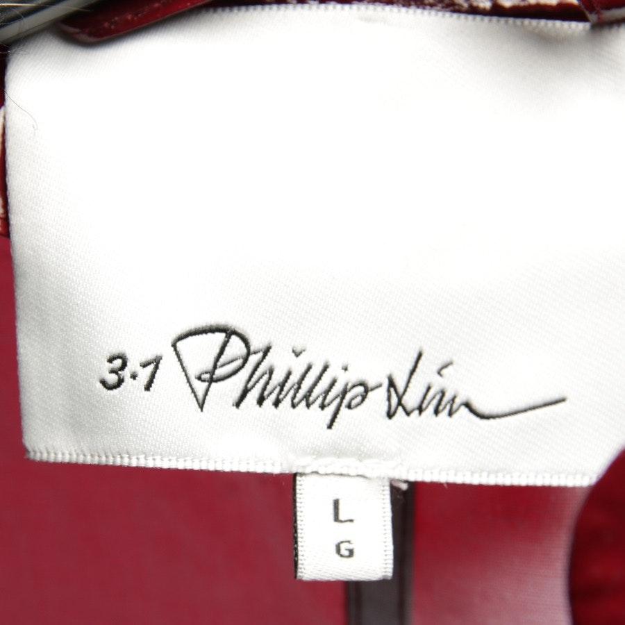 Lackjacke von 3.1 Phillip Lim in Weinrot Gr. L