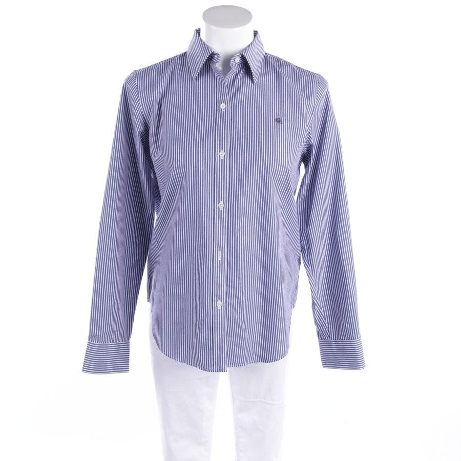 Bluse von Lauren Ralph Lauren in Blau und Weiß Gr. S