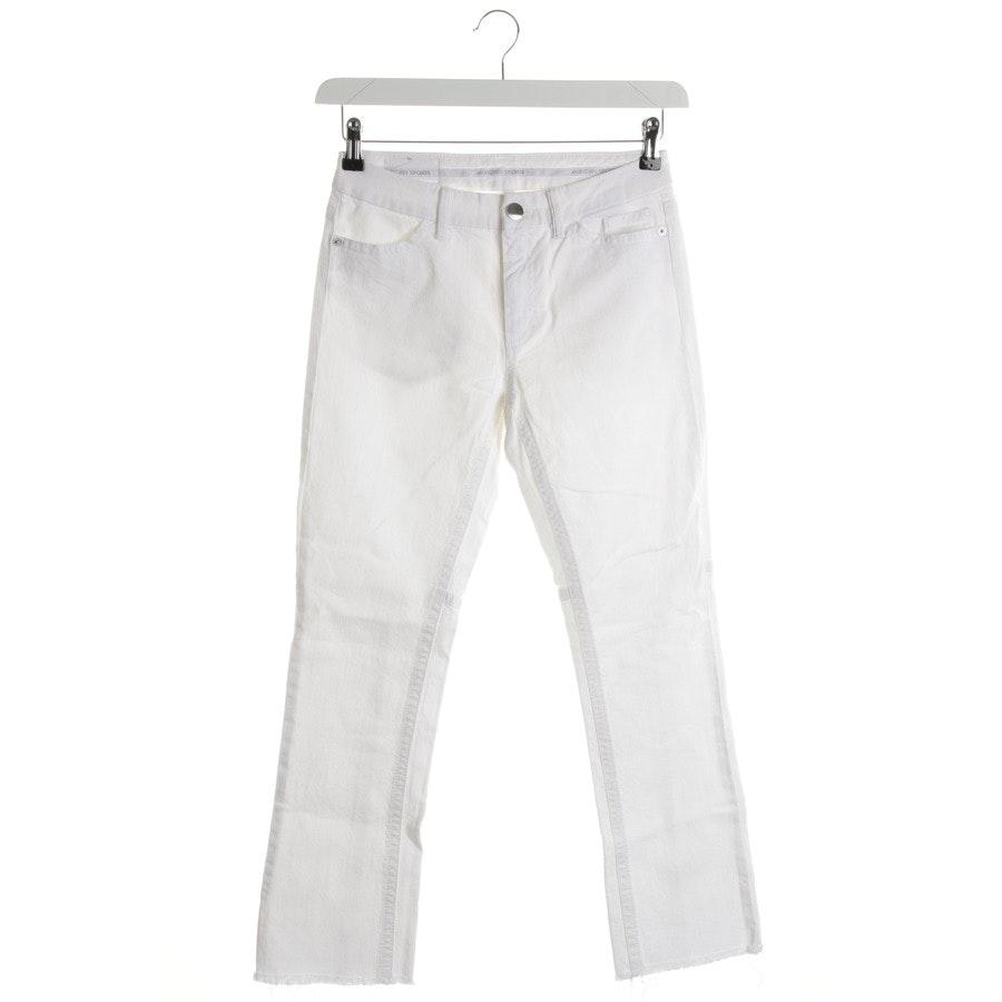 Jeans von Marc Cain Sports in Weiß Gr. 36 N2