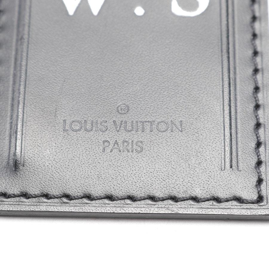 Luggage Tag von Louis Vuitton in Schwarz