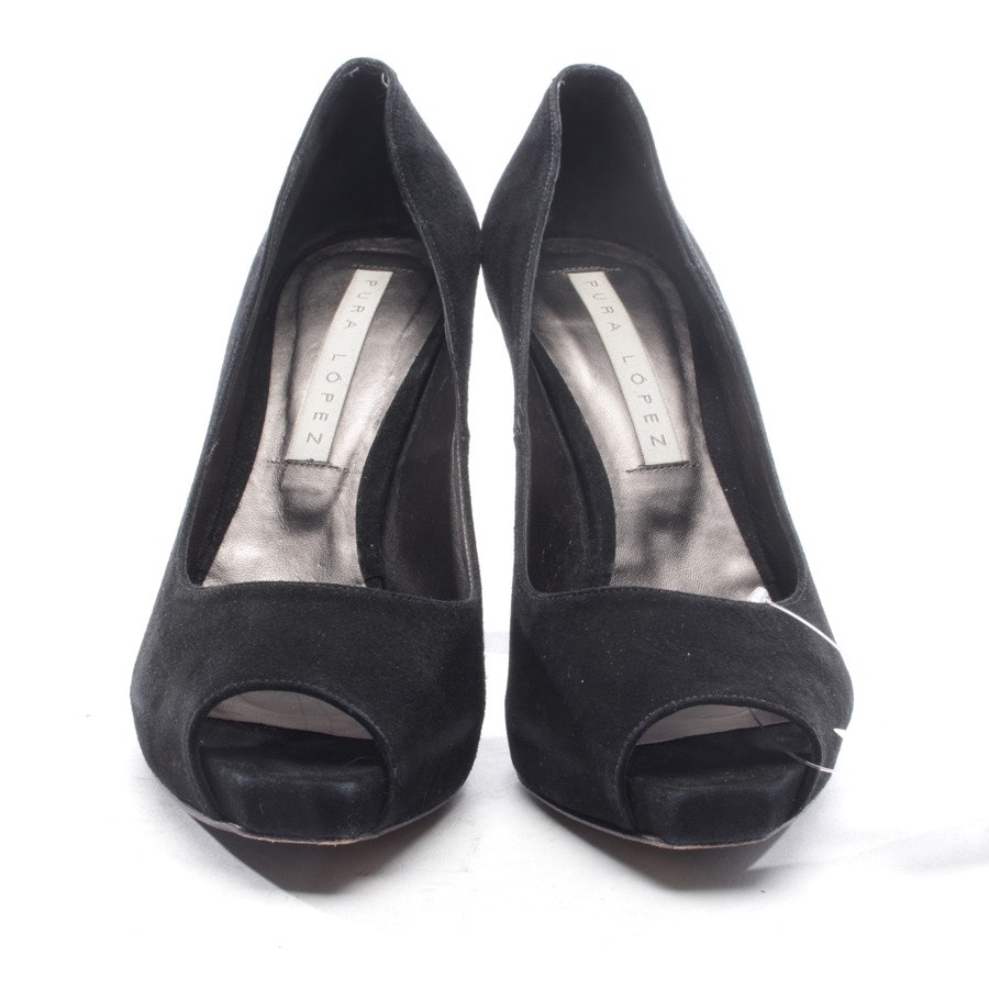 pumps from Pura López in black size D 37