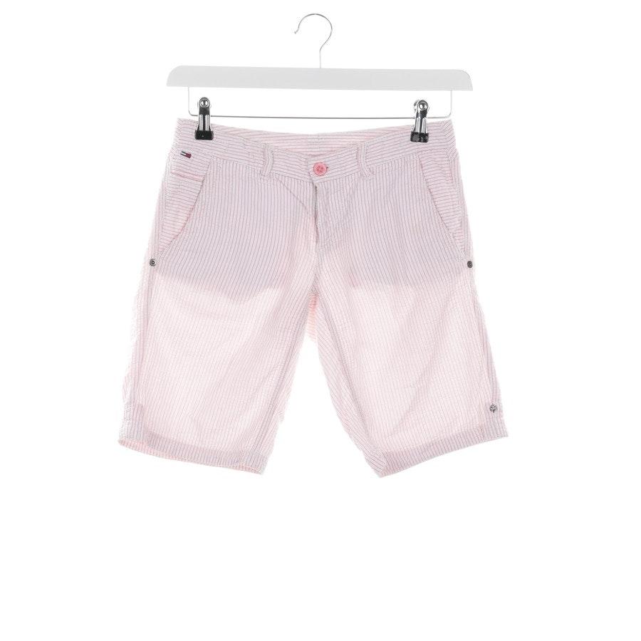 Shorts von Tommy Hilfiger in Weiß und Rosa Gr. 34