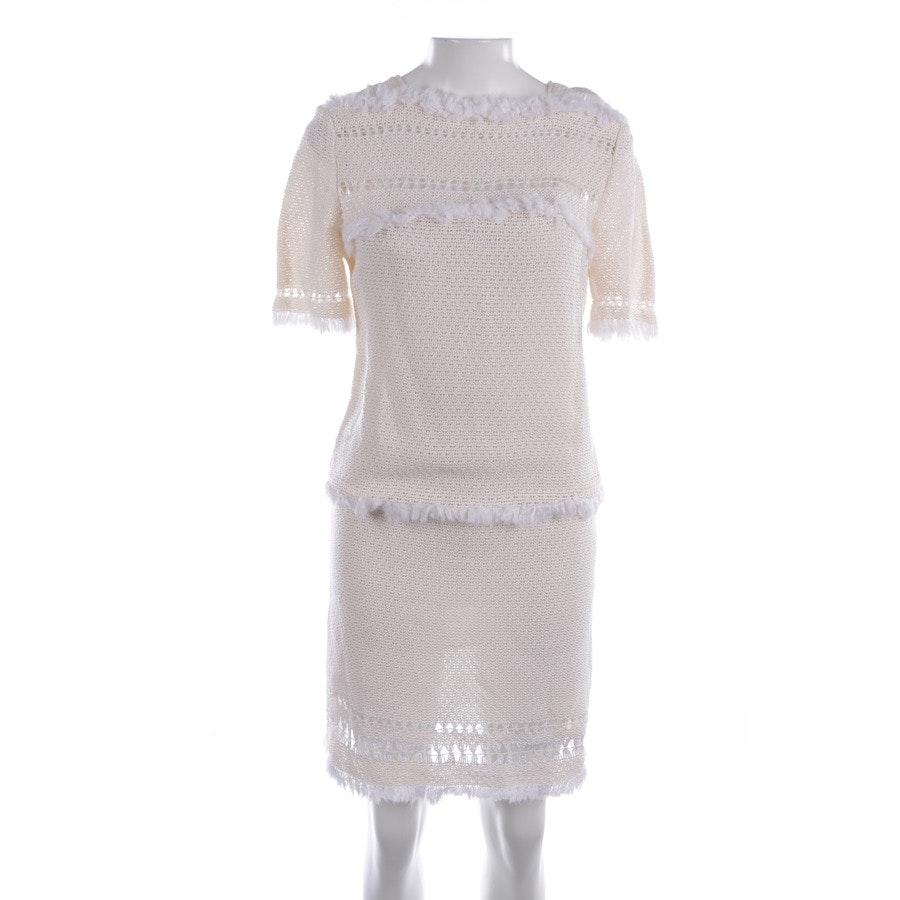 Strickkleid von Isabel Marant in Beige und Weiß Gr. 36 FR 38