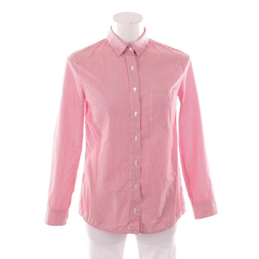 Bluse von Pinko in Weiß und Rot Gr. 34