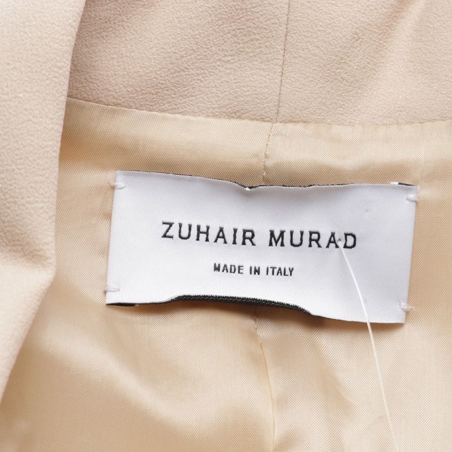 blazer from Zuhair Murad in beige and white size 34