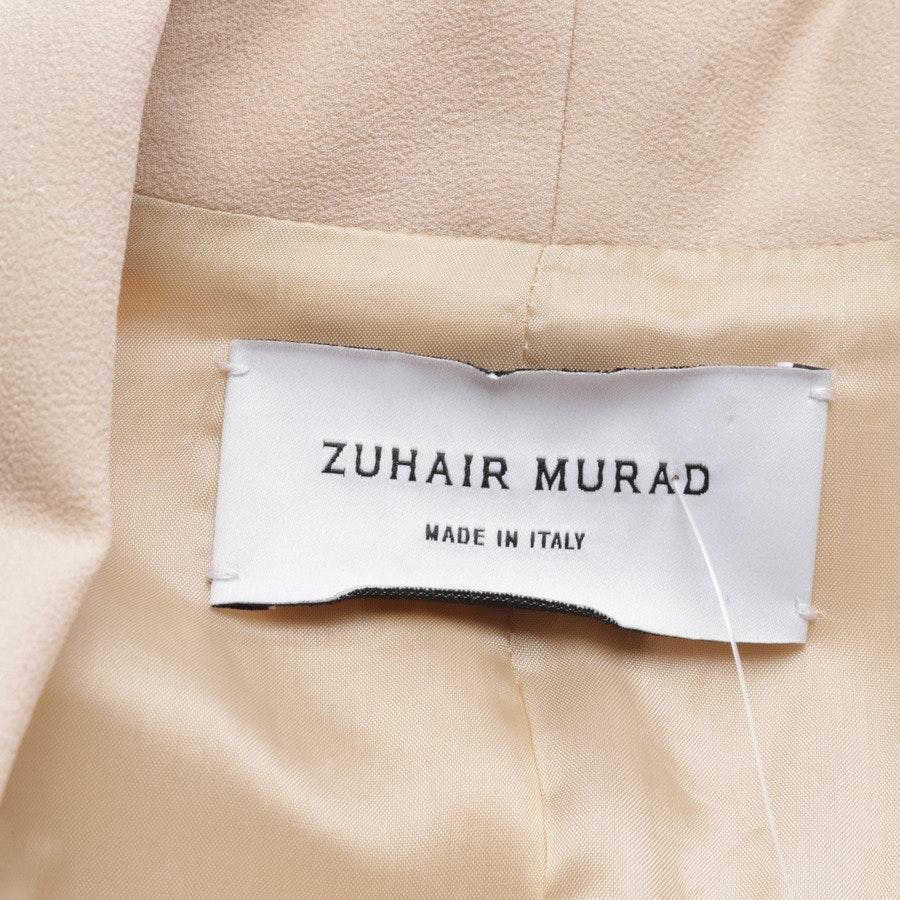 Blazer von Zuhair Murad in Beige und Weiß Gr. 34
