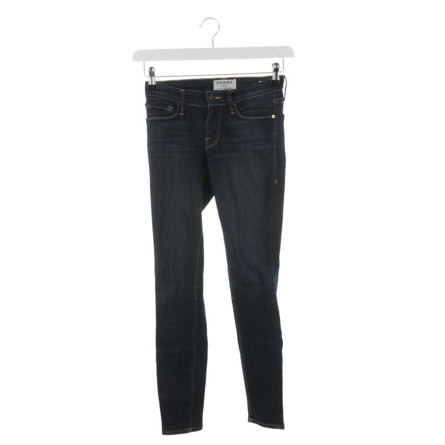 jeans from Frame in dark blue size W24 - le skinny de jeanne
