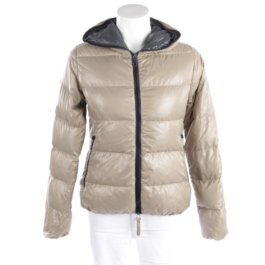 winter coat from Duvetica in beige size 38 IT 44