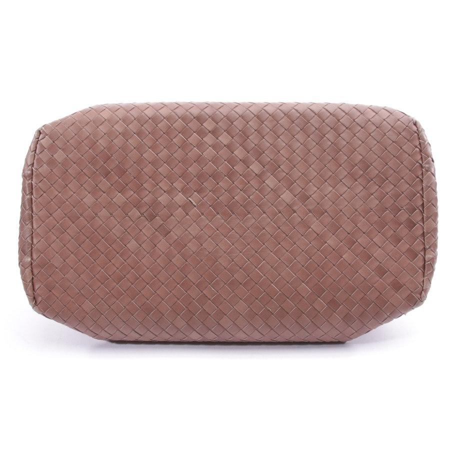shoulder bag from Bottega Veneta in beige-brown - roma nappa umbria noce