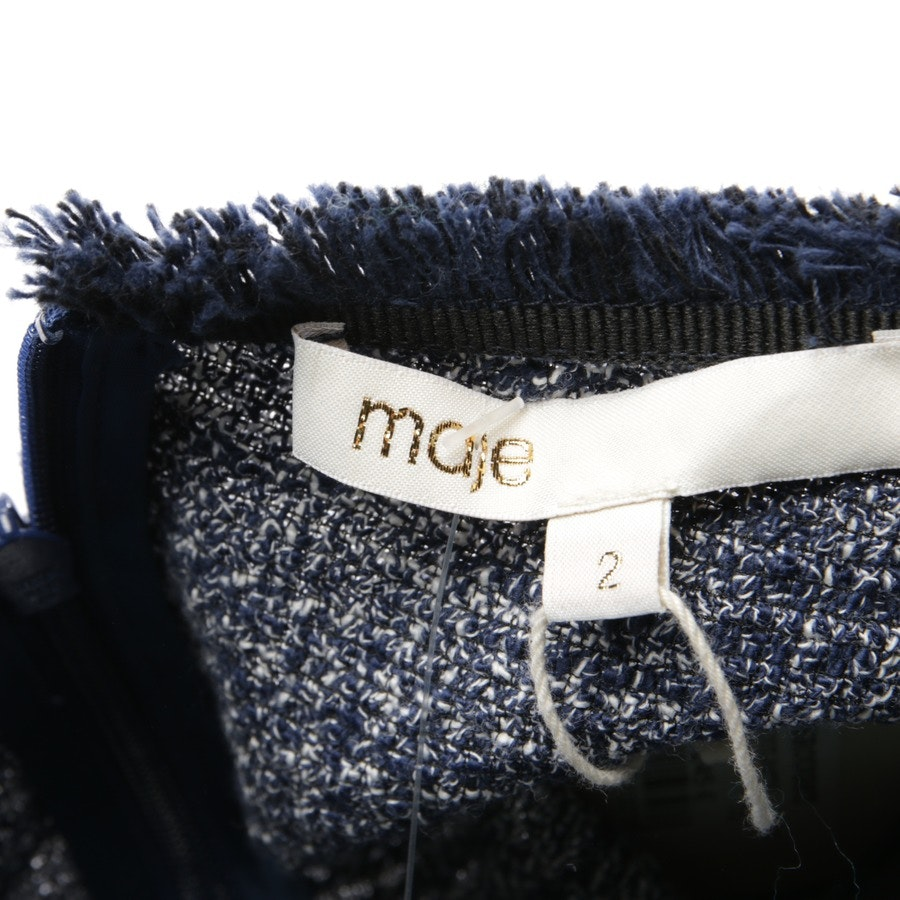 dress from Maje in dark blue and white size 36 / 2 - new