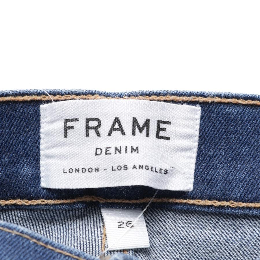 Jeans von Frame in Dunkelblau Gr. W26 - Le Skinny de Jeanne