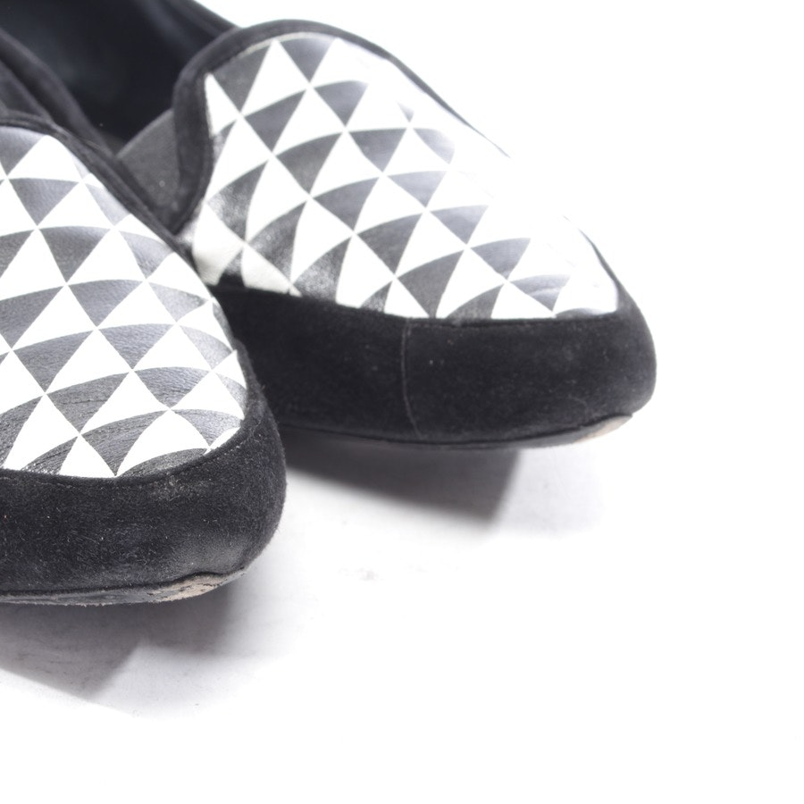loafers from Proenza Schouler in black and white size EUR 38,5