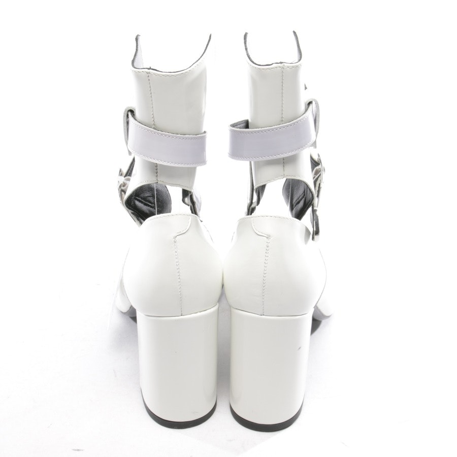 pumps from ROBERT CLERGERIE x SELF-PORTRAIT in white size D 37,5 - new