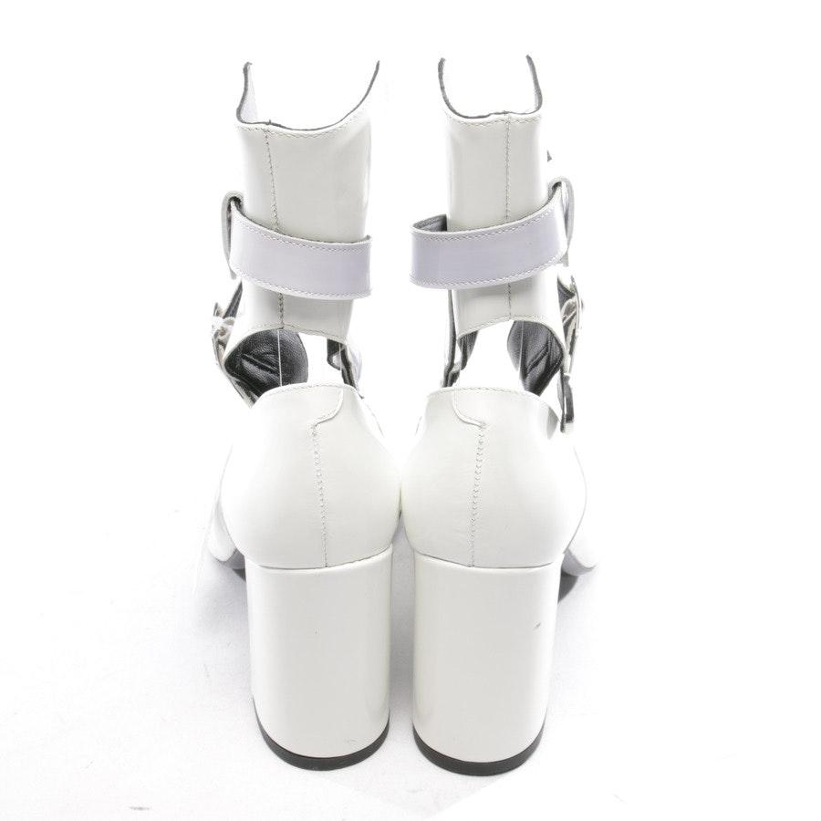 Pumps von ROBERT CLERGERIE x SELF-PORTRAIT in Weiß Gr. D 37,5 - NEU