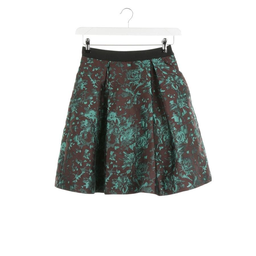 skirt from P.A.R.O.S.H. in brown and green size XS