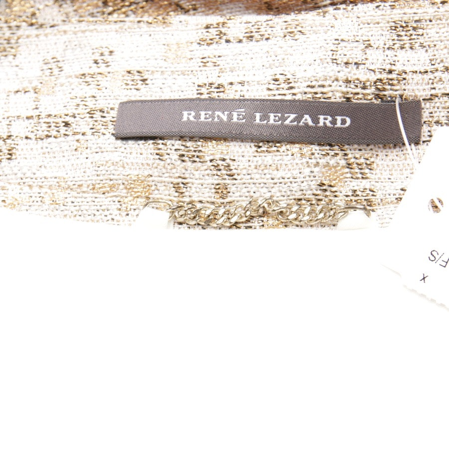 summer jackets from René Lezard in powder and gold size 40