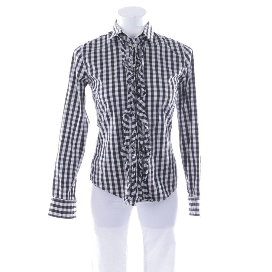 Bluse von Gant in Schwarz und Weiß Gr. 34