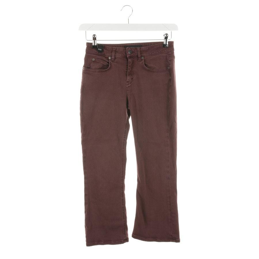 Jeans von Drykorn in Aubergine Gr. W28