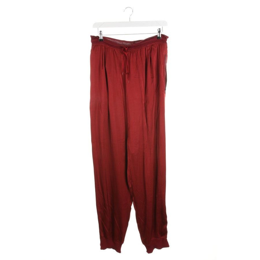 Jumpsuit von Jean Paul Gaultier in Weinrot Gr. 38 IT 44
