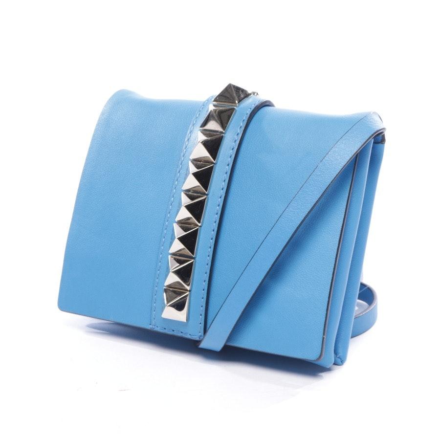 evening bags from Valentino in medium blue - rockstud