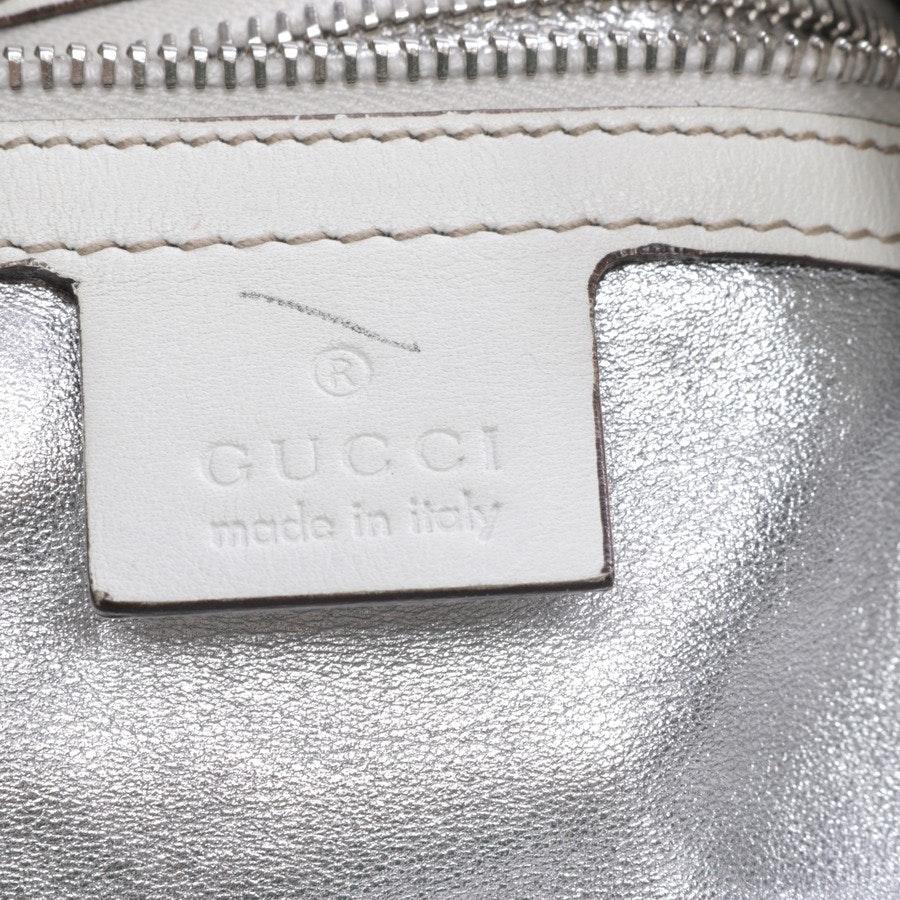 shoulder bag from Gucci in beige mottled and grey - indy bag - python