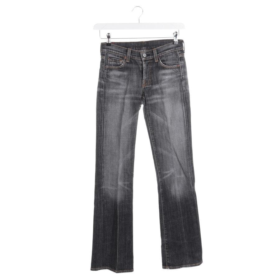 Jeans von 7 for all mankind in Grau Gr. W25