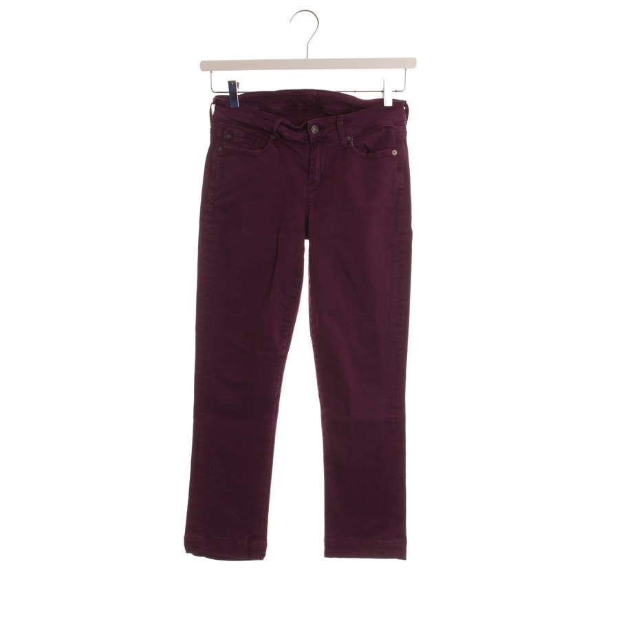 jeans from 7 for all mankind in purple size W25
