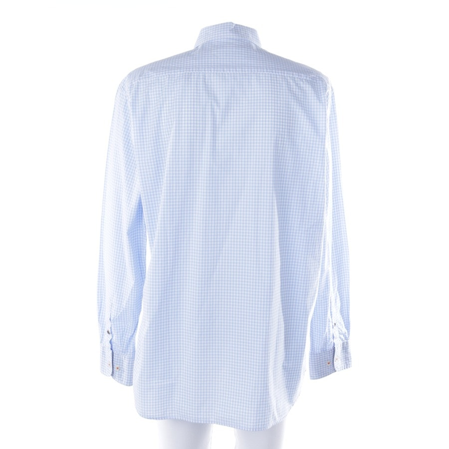casual shirt from Marc O'Polo in light blue and white size 2XL
