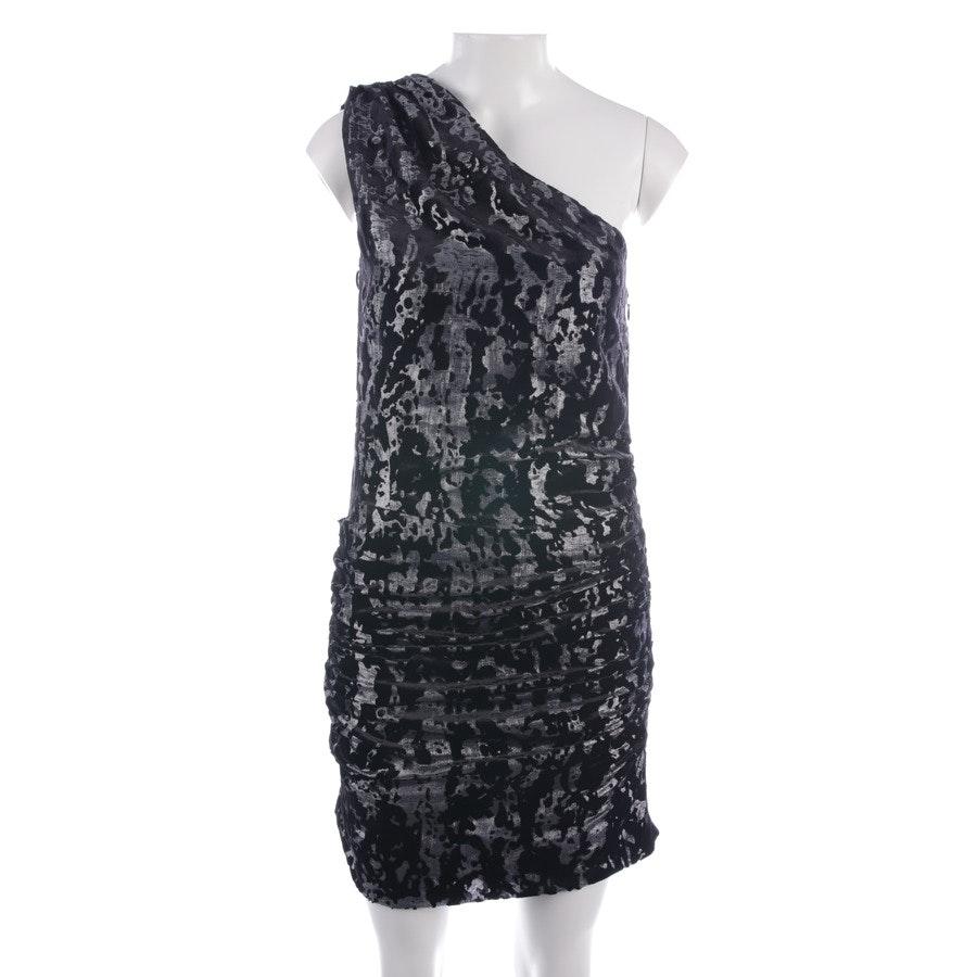 Kleid von Maje in Schwarz und Silber Gr. 36 // 2