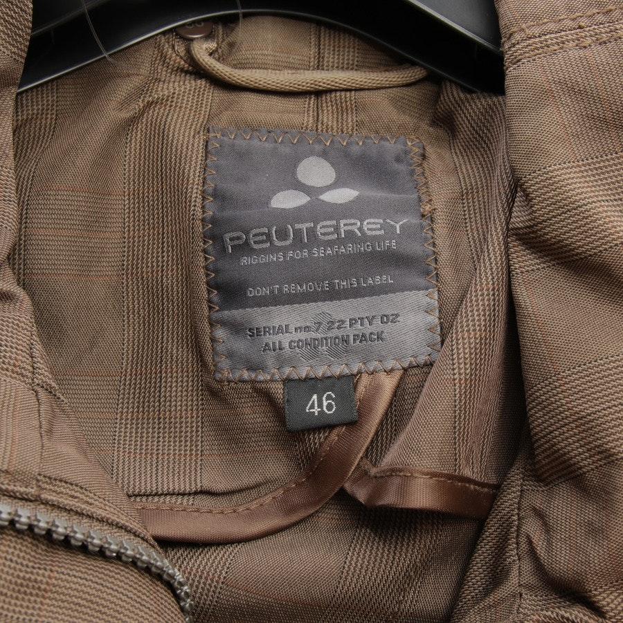 Übergangsjacke von Peuterey in Braun Gr. 40 IT 46