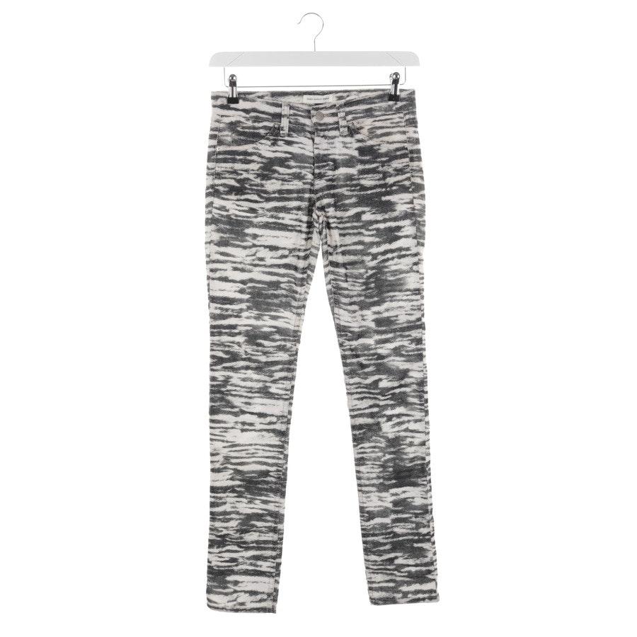 Jeans von Isabel Marant Étoile in Schwarz und Weiß Gr. 36 FR 38