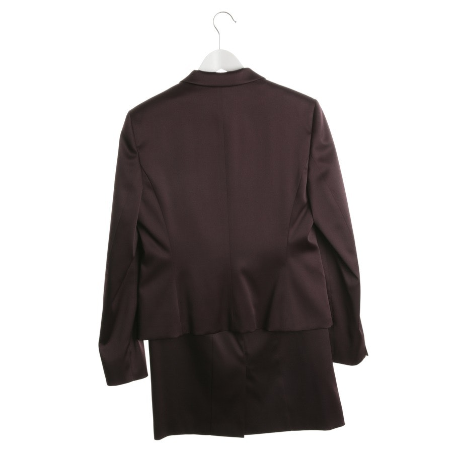skirt suit from Hugo Boss Black Label in eggplant size 40