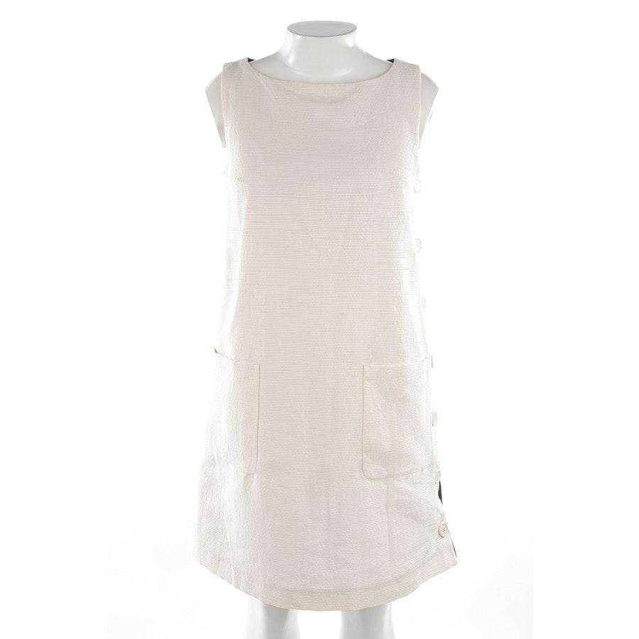 Kleid von Max Mara in Beige und Blau Gr. 42