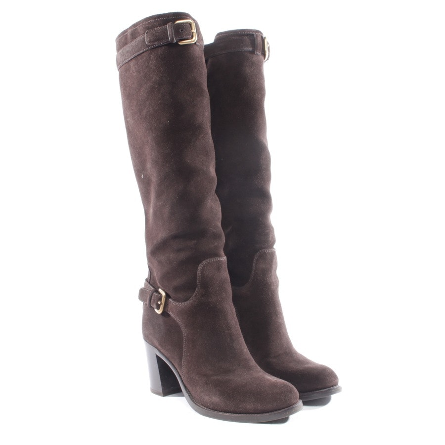boots from Prada in brown size EUR 38,5
