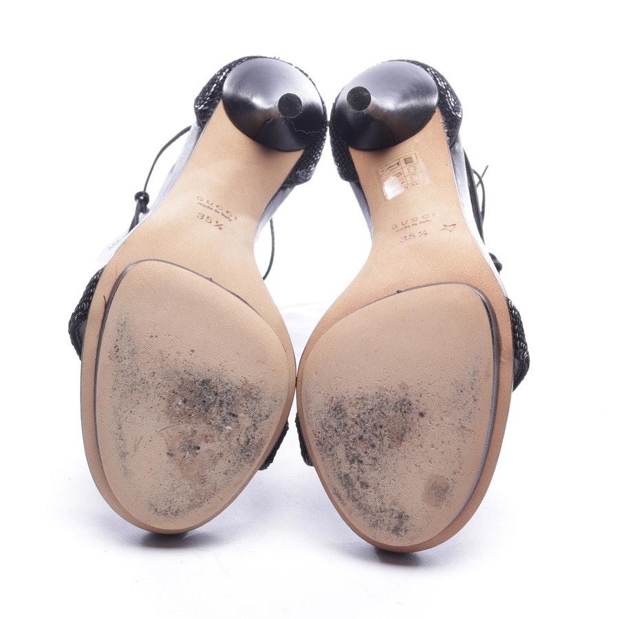 Sandaletten von Gucci in Schwarz Gr. D 35,5