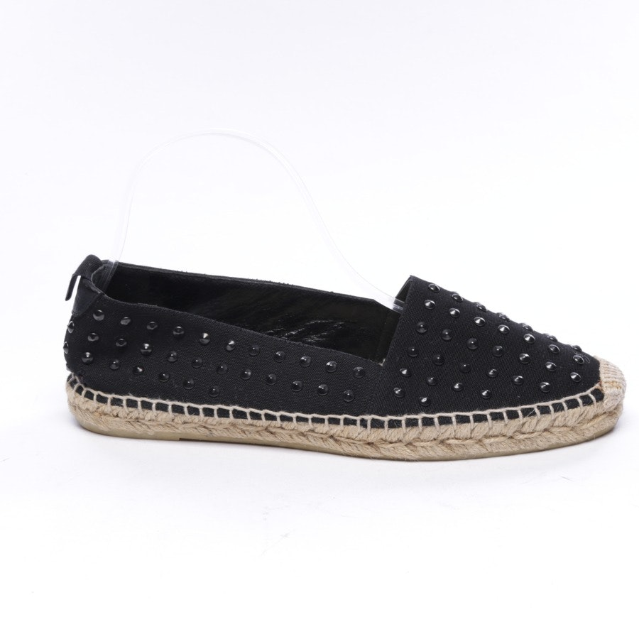 loafers from Saint Laurent in black and beige size EUR 39