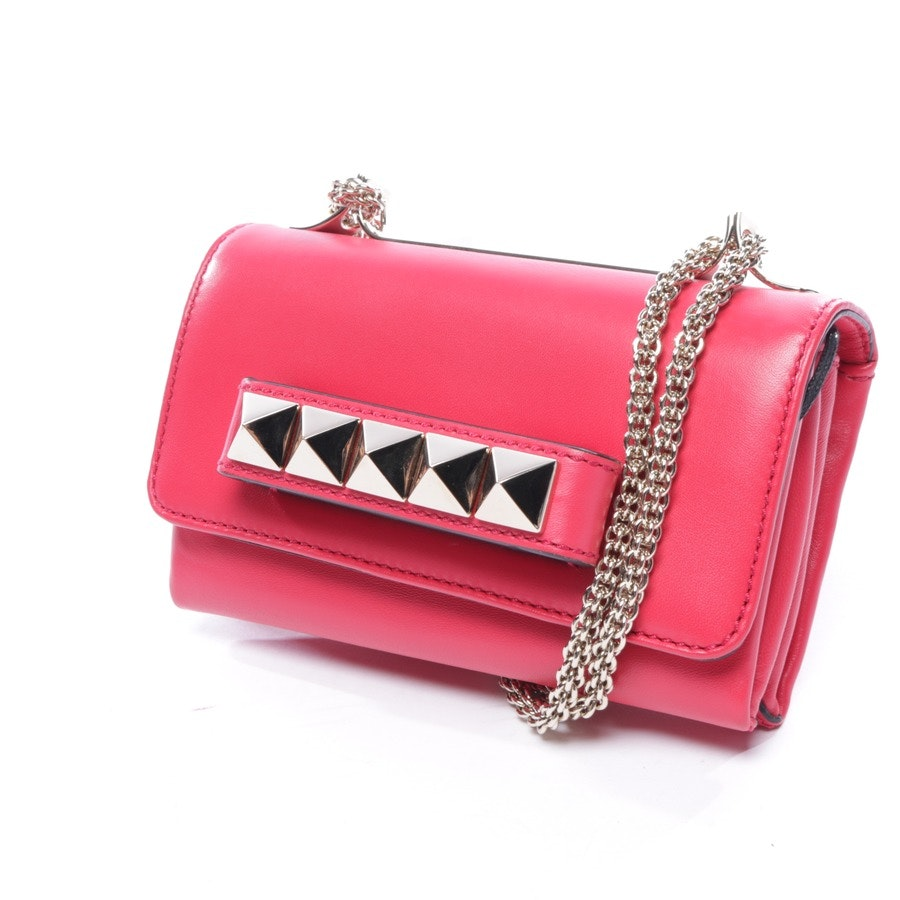 evening bags from Valentino in red - rockstud