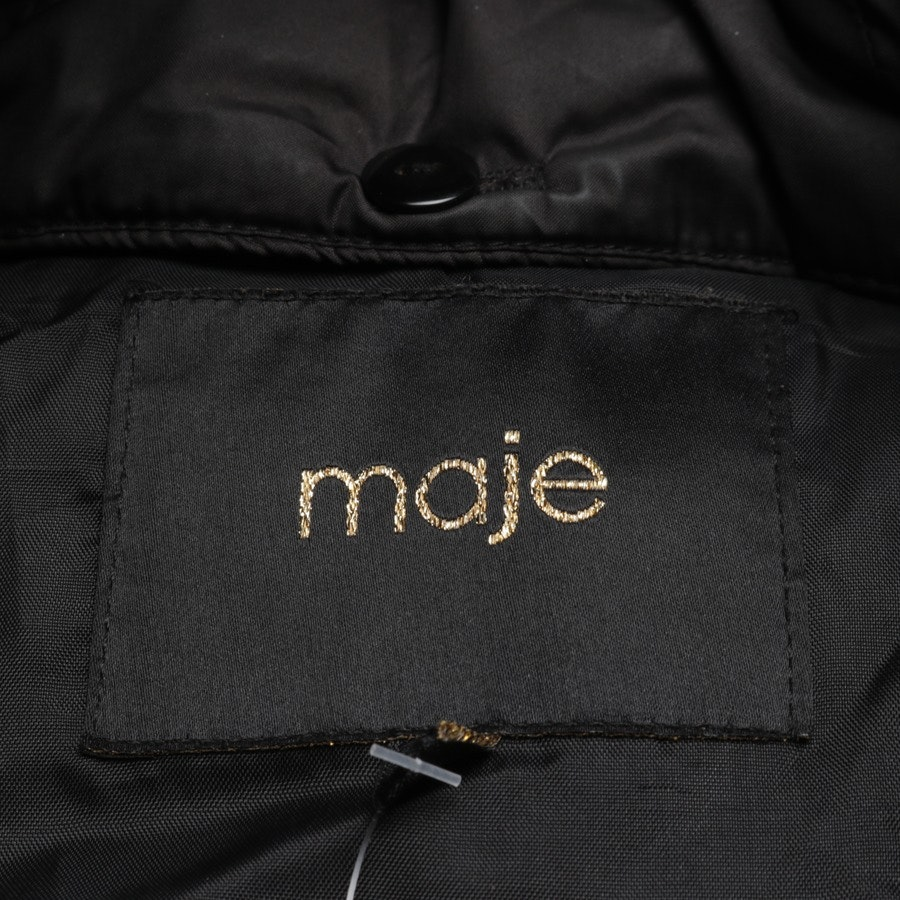 winter coat from Maje in black size 34 FR 36