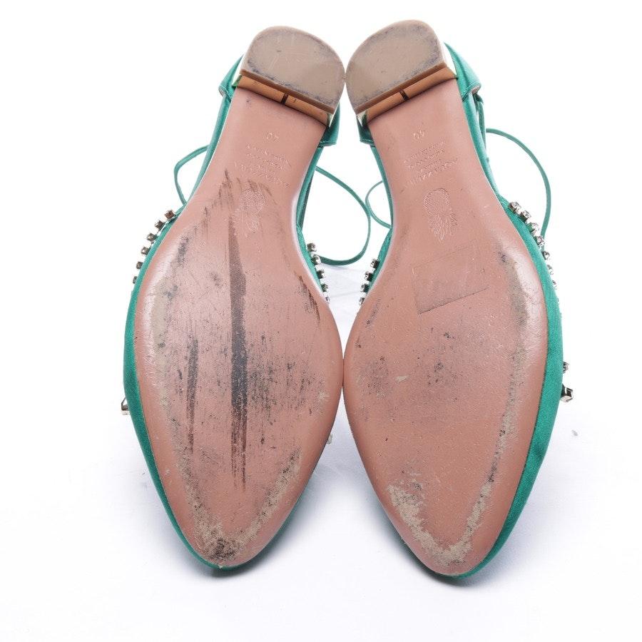 Ballerinas von Aquazzura in Grün Gr. EUR 40